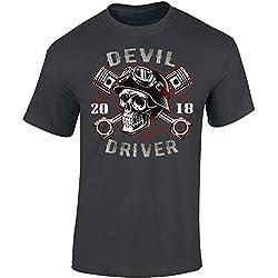 Devil driver - Regalo motero - Motociclismo - Club - Diablo Skull