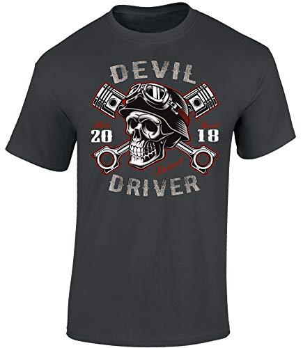 Camiseta: Devil Driver - Regalo Motero-s - T-Shirt Biker Hombre-s...