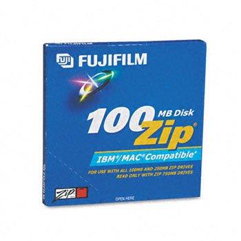 Fuji® IBM/MAC Kompatibel Zip® Festplatten CD, Zip 100Dual Format (Pack OF8)