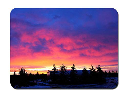 A Cotton Candy Sunrise - Customized Rectangle Non-Slip Rubber Mousepad Gaming Mouse Pad 8.6