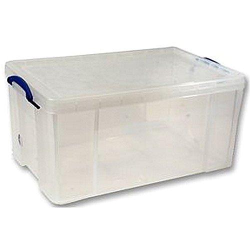 Preisvergleich Produktbild Box 310 x 440 x 710 mm, Transparent, 64L Boxen Aufbewahrung-Box, 310 x 64L 440 x 710 mm, Transparent, Farbe: Transparent, Material: PP (Polypropylen), Lieferumfang: Universal-Aufbewahrungsbox, Außenmaß Tiefe-Imperial:-- Imperial: Äußere Höhe -