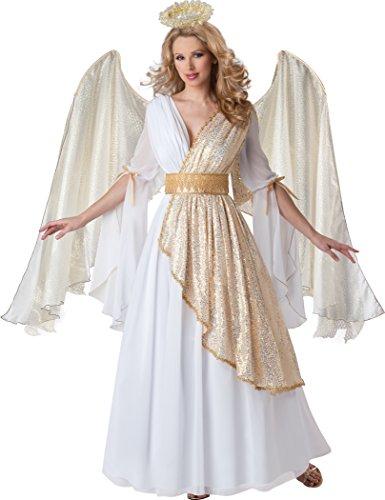 Unbekannt Générique no2268/S–Kostüm Engel Himmlische Qualität Oberseite, Größe S