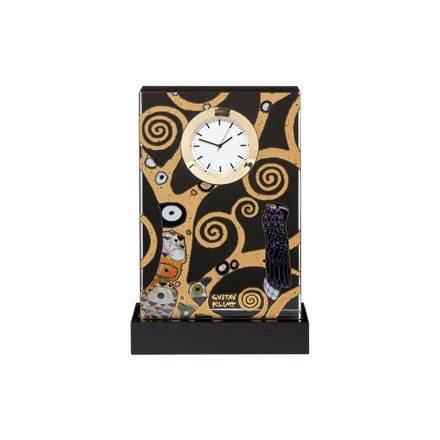 Goebel Lebensbaum, Gustav Klimt, Tischuhr, Uhr, Kaminuhr, Dekoration, Glas, 66523041