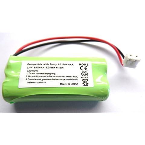 Tomy TD350di ricambio Baby Monitor Digitale Batteria ricaricabile td-350LP175N 2,4V