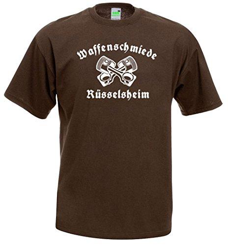 T-Shirt | Waffenschmiede Rüsselsheim Braun