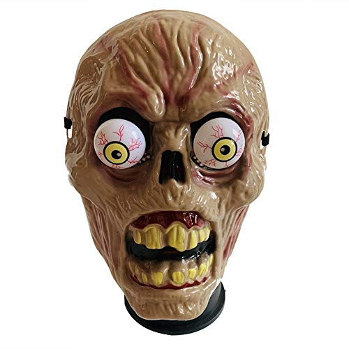 iBaste Halloween Masken Geist Masken Eyeball Horror Mask Vollgesichtsschutzmaske Scary Movie Mask Vollkopf Horror Halloween Party Cosplay Kostüm Dekoration