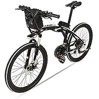 GTYW Bicicleta Plegable Eléctrica Bicicleta De Montaña Bicicleta para Adultos Bicicleta Eléctrica Plegable de 26 Pulgadas