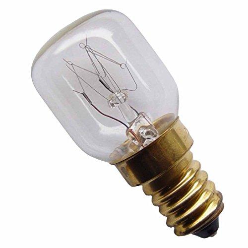 2 Stück Glühbirne E14 - 25 Watt Spezia l- Leuchtmittel für Salzlampe und Kühlschrank.(2914)