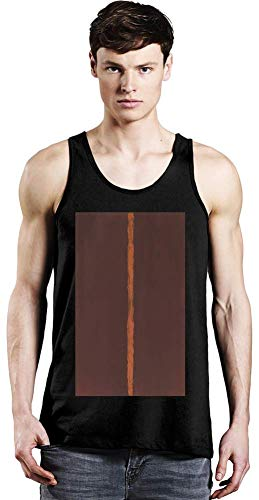 Top Paintings of All Time Barnett Newman - Onement I Painting Unisex Tank Top T-Shirt Men Women Stylish Fashion Fit Custom Apparel by X-Large -