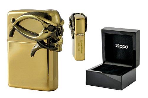 zippo-20039941-de-mechero-3d-gothic-con-diseno-de-calavera-de-laton-pulido-en-la-klavierlackbox-limi