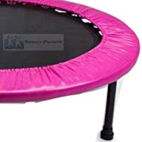 Leisure Pursuits Mini Trampoline Spring Cover 36inch Pink