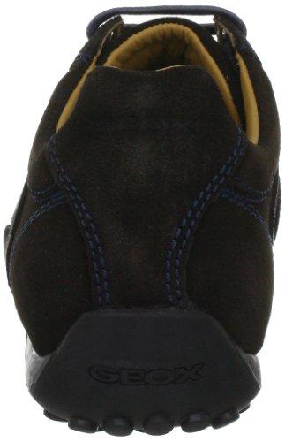 Geox U SNAKE Z U2407Z00022C6009 Herren Klassische Sneakers Braun (COFFEE C6009)