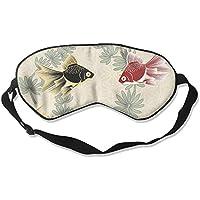 Eye Mask Eyeshade Fish Drawing Sleeping Mask Blindfold Eyepatch Adjustable Head Strap preisvergleich bei billige-tabletten.eu