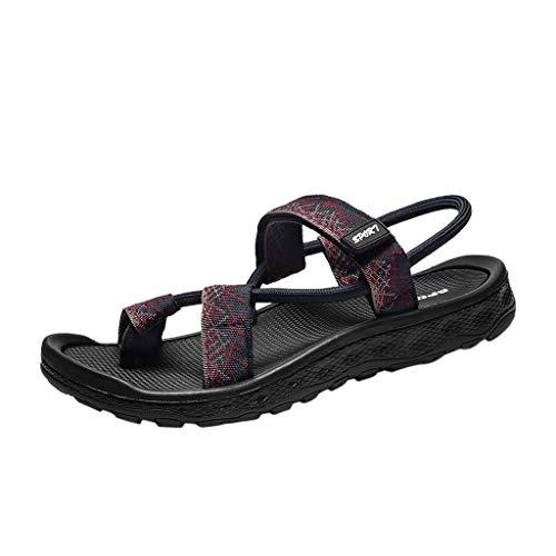 ODRD Shoes Sommer Casual Men PersöNlichkeit Wohnungen Plattform Rutschfeste Rutschfeste Sandale Strandschuh Einzelne Schuhe Strandschuhe Plateauschuhe Freizeitschuhe Turnschuhe