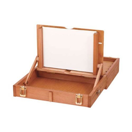 Mabef Oiled Beechwood Pochade Box 12x15 Inches M/105 by Mabef -