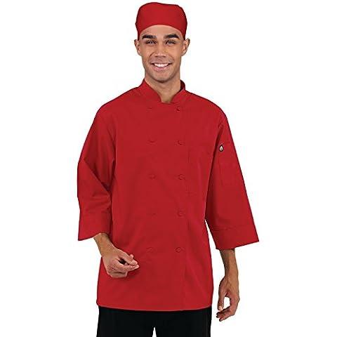 Unisex da donna Colour by Chef Works-Giacca per Chef-Uniforme da