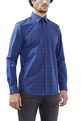 Esprit 116eo2f022, Chemise Business Homme Bleu (navy 400)