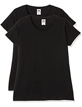 Fruit of the Loom Ladies Sofspun T, Top para Mujer