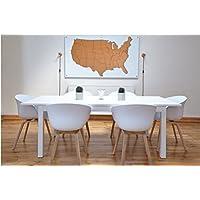 Karte - Typ USA (Pinnwand)