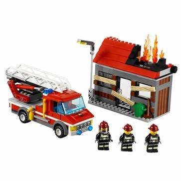 Dazzling-Lego-City-Fire-Emergency-60003-Cleva-Edition-LEGOBAG-Bundle