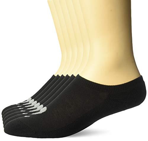 nce No Show Socken, schwarz, Medium ()