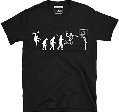 6TN evolución de Baloncesto Camiseta