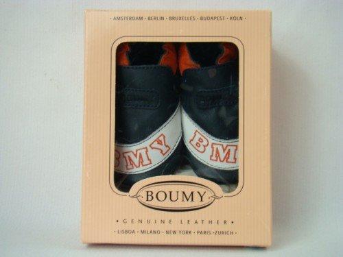 Boumy 2124 2126 4 You Krabbelschuhe Lauflernschuhe Babyschuhe verschiedene Farben dunkelblau/orange/weiß