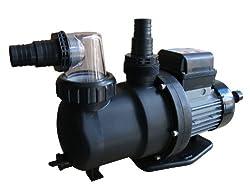 Steinbach SPS 100-1T Filterpumpe, 230 V / 550 Watt, 158 l/min, max. Pumphöhe 10 m, integrierte Zeitschaltuhr, 040917