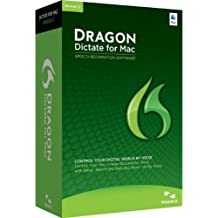 Nuance Dragon Dictate for Mac 3.0, UPG - Software de reconocimiento de voz (UPG Dragon Dictate, 4096 MB, 2048 MB, Intel, ENG, Full)