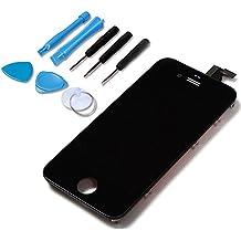 LL TRADER Pantalla LCD de pantalla táctil reemplazo del digitizador Asamblea para iPhone 4 Negro