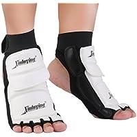 Almohadillas de pie de boxeo Taekwondo Sparring Protective Gear Almohadillas para pies Sparring Punch Bag