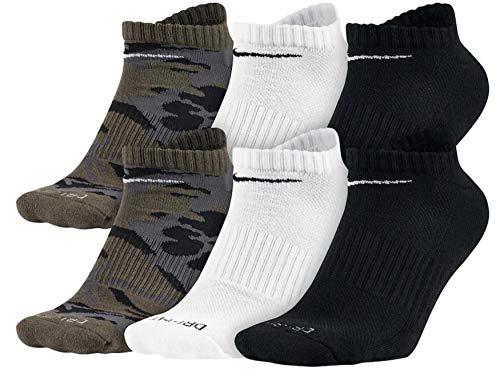 Nike Herrensocken, gepolstert, wadenhoch Gr. M, Heavy Blue/White/Black (Nike Performance Socken Gepolstert)