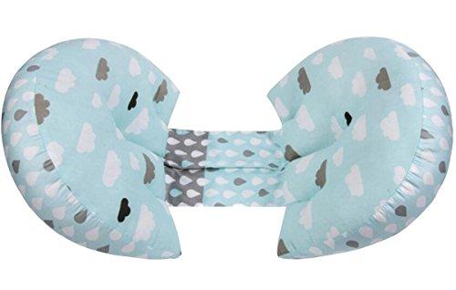 Mutterschaft Schlaf Kissen (Maternity Support Kissen U Shape Schwangerschaft Support Kissen Seite Schlaf für Mutterschaft Bauch Multifunktions Kissen , 2)