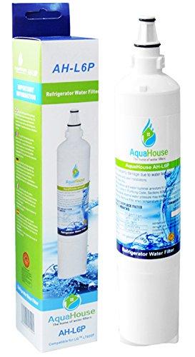AquaHouse AH-L6P filtro de agua compatibles para LG nevera LT600P, 5231JA2006A, 5231JA2006B,...