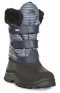 Black 13 NEW TRESPASS Strachan Boys WATERPROOF Snow Boot KIDS UK SIZES 10