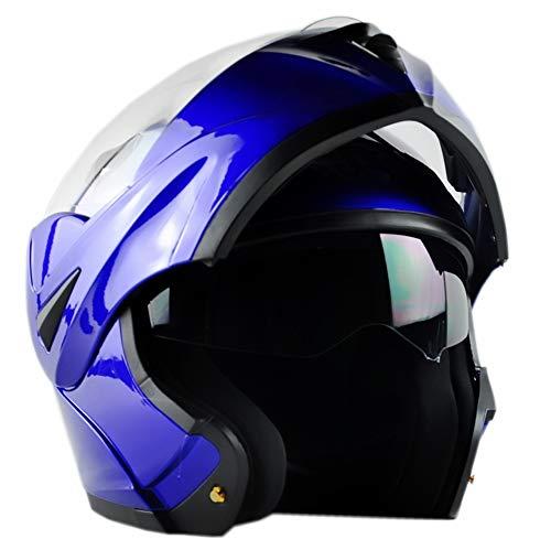 ILM 10colori moto Flip Up casco modulare DOT