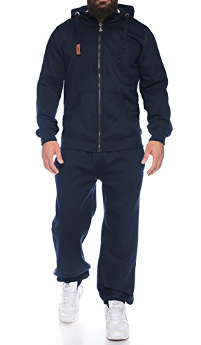 Finchman Finchsuit 1 Herren Jogging Anzug Trainingsanzug Sportanzug FMJS135, Darkblue, 3XL