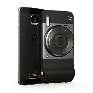 Lenovo Moto Mods Hasselblad True Zoom Fotocamera, Zoom Ottico 10x, Nero
