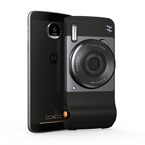 Moto Mod - Zoom Hasselblad (zoom óptico 10x y flash Xenon), color negro
