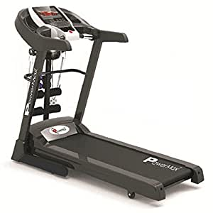 Powermax Fitness TDA-225 2HP (4HP peak) Multifunction Motorized Treadmill with Auto-Inclination and Auto-lubrication