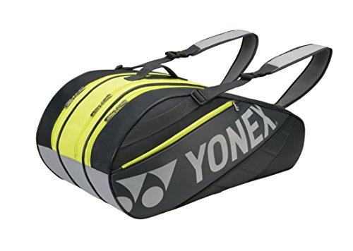 Yonex - Sacca per racchette, serie base 9Er, colore: grigio