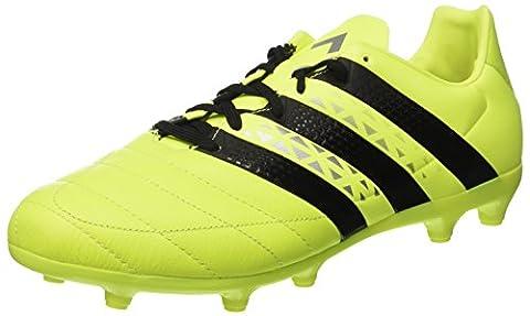 adidas Herren Ace 16.1 Sg Lea AQ4456 Fußball-Trainingsschuhe, Multicolore (Syello/Cblack/Silvmt),