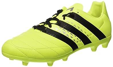 adidas Herren Ace 16.1 SG Lea AQ4456 Fußball-Trainingsschuhe, Multicolore (SYELLO/Cblack/Silvmt), 39 1/3 EU