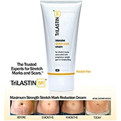 NEW! TriLASTIN-SR Maximum Strength Stretch Mark Cream - 5.5oz