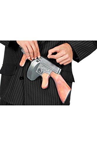 Tasche Umhängetasche Maschinengewehr Gangster Mafia Gangstertasche ()