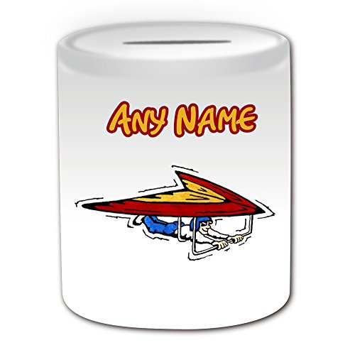 personalised-gift-hang-glider-money-box-sport-and-hobby-design-theme-white-any-name-message-on-your-