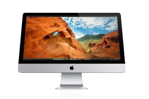 Apple–Apple iMac 21-Inch (Late 2012) 2.7GHz Core i5/8GB RAM/1TB HD/Teclado QWERTY UK (Reacondicionado Certificado)