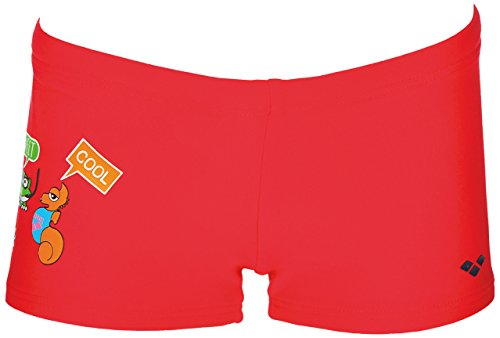 arena AWT Kids Boy Short, Kostüm Kind, Kinder, 000431_407_4-5, rot, 4-5