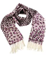 Shawls / scarves / scarf - Elyséa - pure cashmere scarf - Pink panther- French scarf - gift for her