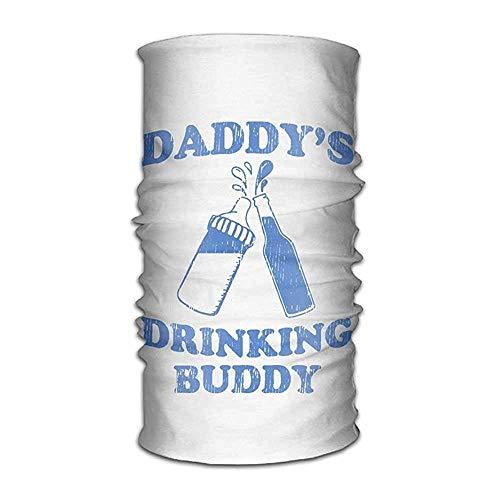 Cool pillow Daddy\'s Drinking Buddy Versatile Outdoors Daily Stylish Headwear Multifunctional Sport Headband Sweatband,Magic Scarf,Head Wrap,Neck Gaiter,Bandana,Helmet Liner, Balaclava,Tube Mask